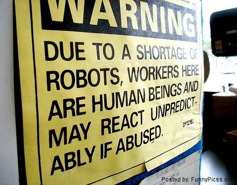 Shortage of Robots