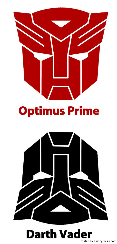 Optimus Prime vs Darth Vader
