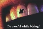 Be Careful While Biking