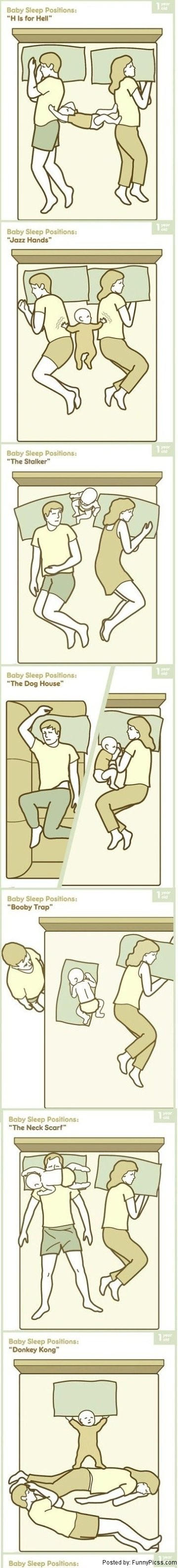 baby sleep positions