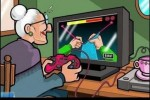 grandma video gamer