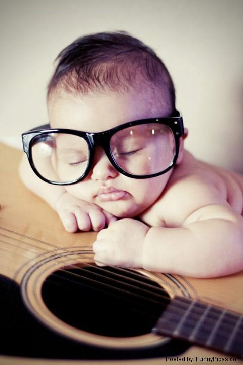 Geek baby pic