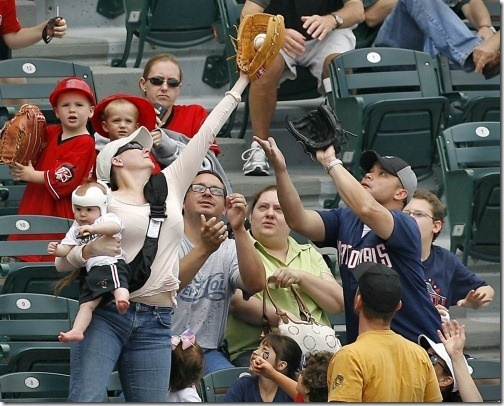super catch by mom