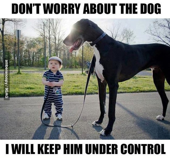 I Will Keep Him Under Control